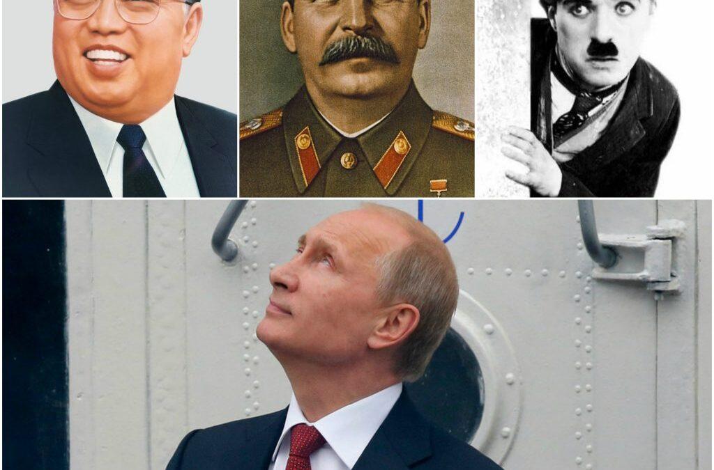 Ce a învățat Putin de la Stalin, Kim Ir-sen și  Charlie Chaplin