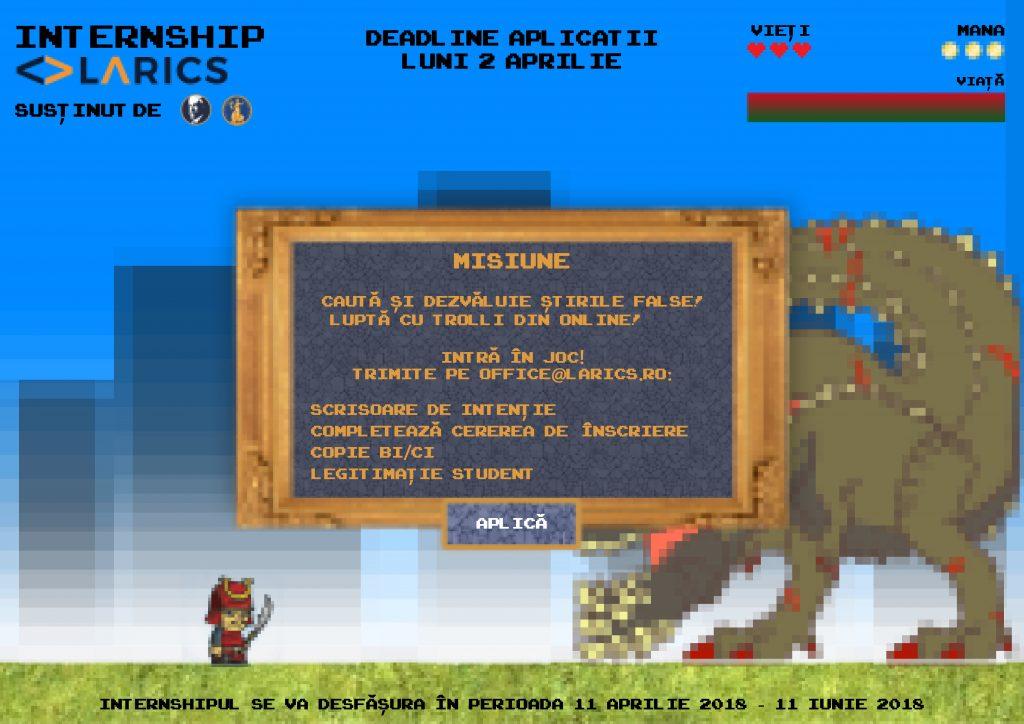 Infograf pentru pentru internship