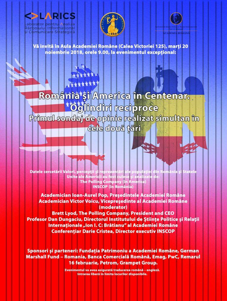 România și America în Centenar.