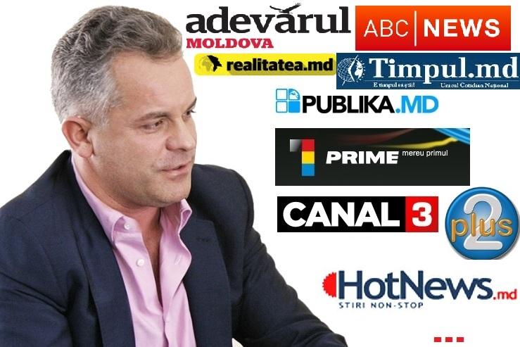 Lista rușinii. Cum se face jurnalism în presa Binomului Plahotniuc-Dodon