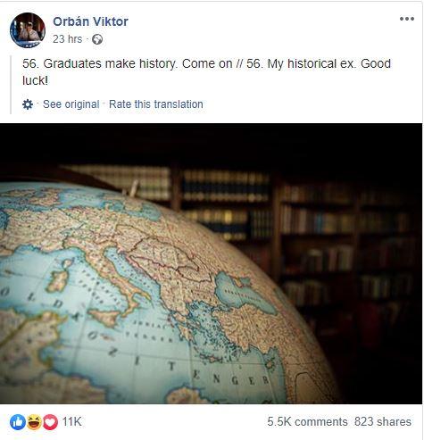 Cum l-au ironizat românii pe Viktor Orban după ce acesta a postat ...