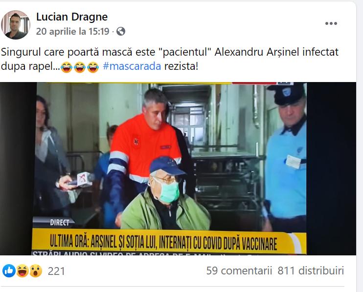 STOP CORONAVIRUS DISINFORMATION. Cum au devenit niște imagini de arhivă difuzate de RTV  un fake-news viral pe Facebook