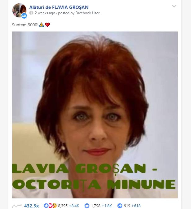 STOP CORONAVIRUS DISINFORMATION. Cum s-au transformat Grupurile de susținere a doctoriței Flavia Groșan în adevărate camere de ecou